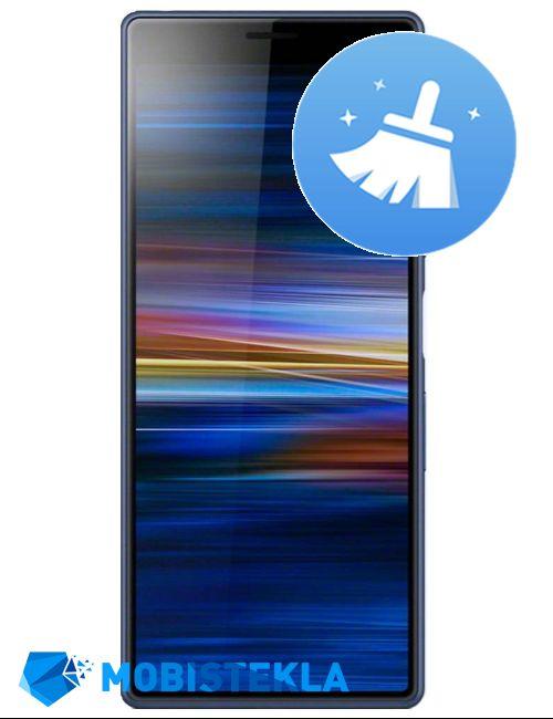 SONY Xperia XA3 - Čiščenje naprave
