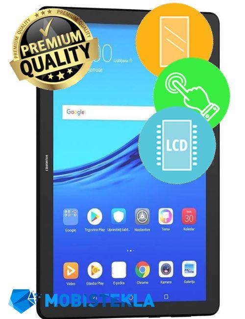 HUAWEI MediaPad M5 10 - Menjava ekrana in stekla - Premium