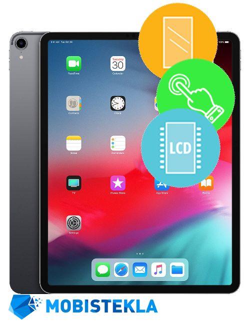 APPLE iPad PRO 12,9 2018 - Menjava ekrana in stekla