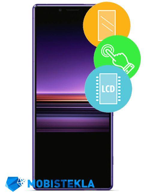 SONY Xperia 1 - Menjava ekrana in stekla
