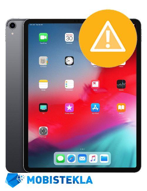 APPLE iPad PRO 12,9 2018 - Odprava programskih napak