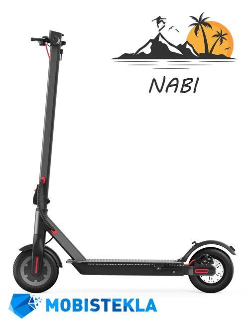 Popravilo elektricnega skiroja Nabi Scooterex Y5