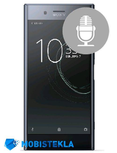 SONY Xperia XZ Premium - Popravilo mikrofona