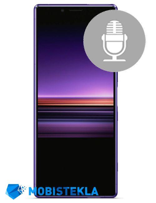 SONY Xperia 1 - Popravilo mikrofona