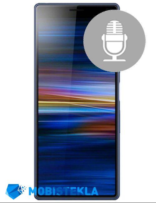 SONY Xperia XA3 - Popravilo mikrofona