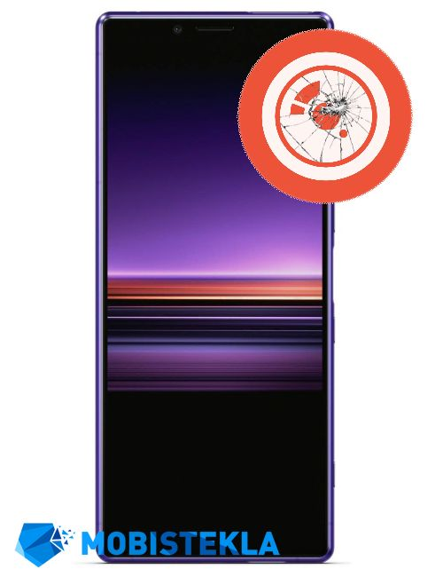 SONY Xperia 1 - Popravilo stekla kamere