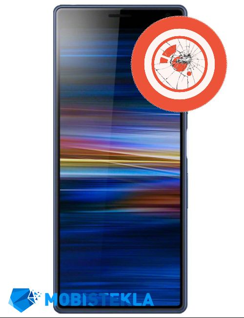 SONY Xperia XA3 - Popravilo stekla kamere