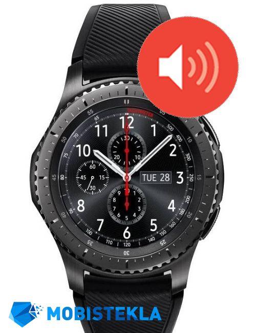 SAMSUNG Gear S3 - Popravilo zvočnika