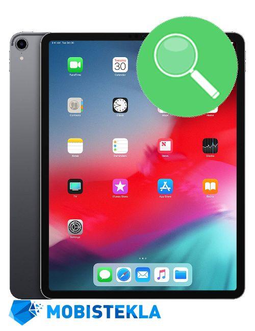 APPLE iPad PRO 12,9 2018 - Pregled in diagnostika
