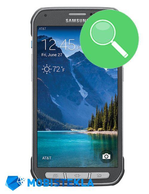 SAMSUNG Galaxy S7 Active - Pregled in diagnostika