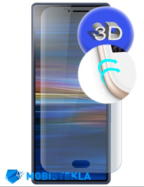 SONY Xperia XA3 - Zaščitno steklo 3D